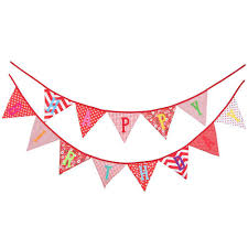 International Bunting Flags 1set Bunting Pennant Flags Banner Wedding Baby Birthday Party