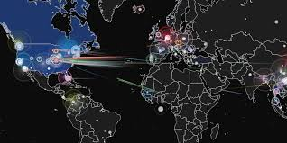 Real Time Maps This Map Lets You Watch Ddos Attacks In Real Time The Daily Dot