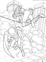 ultimate spiderman coloring pages spiderman unlimited
