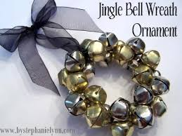 jingle bell wreath ornament no 12 bystephanielynn