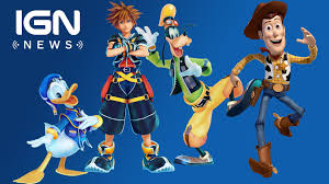 kingdom hearts 3 toy story announced ign