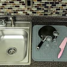 clear plastic sink mats extra large sink mat extra large kitchen sink and medium size of
