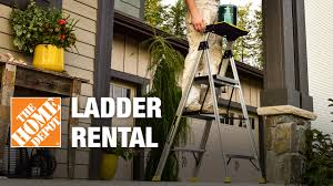 Indoor Trees For The Home by Ladder Rental The Home Depot Youtube