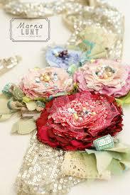 the 25 best fabric flowers ideas on pinterest felt flowers