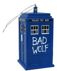 bad wolf tardis ornament twentysix dollars