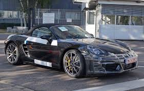 porsche boxster top speed porsche readies 981 2 boxster and cayman with 4 cylinder