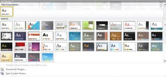 Powerpoint 2010 Themes Theme Ppt 2010