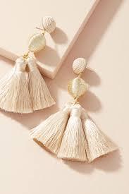 suzanna dai earrings tassel drop earrings anthropologie
