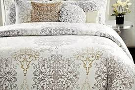 Ivory Duvet Cover Set Bedroom Tahari Bedding Medallion King Duvet Cover Set Blue Ivory