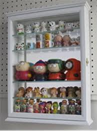 wall display amazon com small wall mounted curio cabinet wall display case