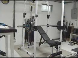 Bench For Power Rack Best Way I U0027ve Found To Do Incline Barbell Bench Press