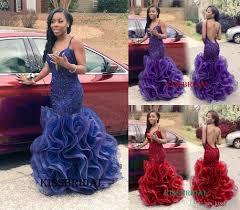 rachel allan 2016 royal blue mermaid prom dresses long