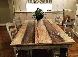 choosing the best barnwood table for your dining room