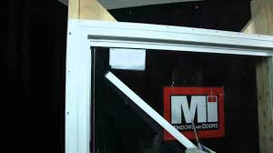 glass for doors and windows mi windows and doors how to video changing fixed top glass youtube