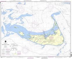 Nantucket Map Noaa Chart 13241 Nantucket Island