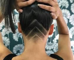 the geometic undercut 17 badass hidden hair tattoos that u0027ll be