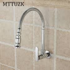 wall faucet kitchen aliexpress buy mttuzk free shipping in wall mounted brass