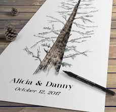 unique wedding guest book alternatives guest book alternatives tree custom personalized rustic