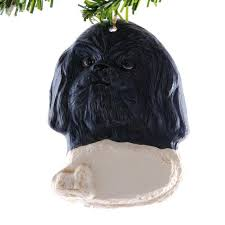 shih tzu ornaments 42 best ace my black shih tzu images