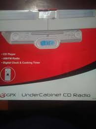 Under Kitchen Cabinet Cd Player Under Cabinet Stereo With Bluetooth Monsterlune