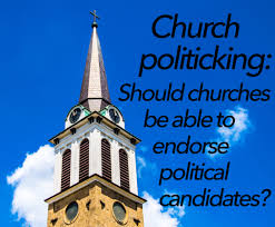 church politicking should churches be able to endorse political