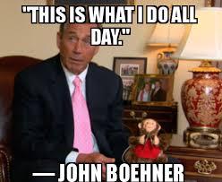 Boehner Meme - crybaby john boehner must be on his period again wonkette
