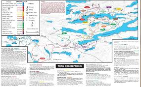 Big Sky Trail Map Cross Country Skiing And Trails On The North Shore Mn