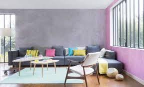 peindre une chambre avec deux couleurs couleur parme chambre 5 salon et gris en deux couleurs de