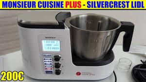 monsieur cuisine plus lidl silvercrest présentation test avis