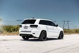 white and teal jeep white jeep srt8 velgen wheels vmb5 satin black 22x10 5 all
