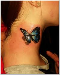 what does a butterfly images symbolize in a design idea for