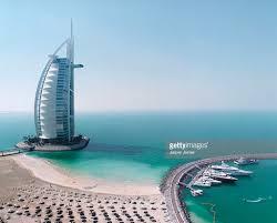 aerial view of burj al arab hotel dubai stock photo getty images