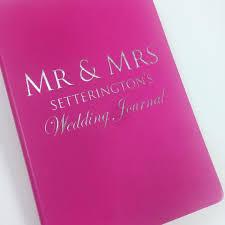 wedding journal personalised wedding journal pretty n personal