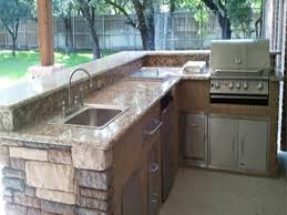 Outdoor Bbq Kitchen Ideas L Shaped Outdoor Kitchen Ideas Rustic Outdoor Kitchen Ideas