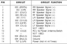 2000 ford contour stereo wiring diagram 2002 ford windstar stereo
