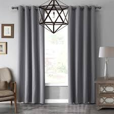 Black And Gray Curtains Luxury Modern Solid Gray Black Purple Color Top Quality