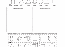 kindergarten shapes worksheets u0026 free printables education com