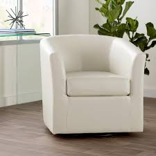 Club Chairs For Living Room Faux Leather Accent Chairs You U0027ll Love Wayfair