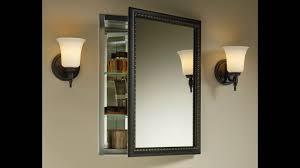 Medicine Cabinets Recessed Recessed Framed Medicine Cabinet Ideas U2013 Home Furniture Ideas