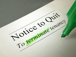end of lease letter to landlord template notice to quit landlordzone