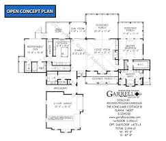 long lake cottage iii house plans by garrell associates inc