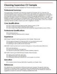 housekeeping supervisor resume sample housekeeping supervisor