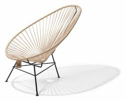 acapulco chaise chaise acapulco en chanvre 100 naturel le fauteuil acapulco