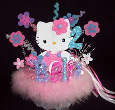 Centerpieces For Birthday by Hello Kitty Centerpieces For Birthday All About Birthday