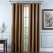 Eclipse Grommet Blackout Curtains Portland Room Darkening Insulated Grommet Curtain Panels