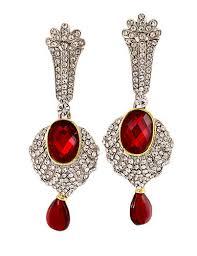 ear rings pic silver plated diamond ruby earrings gold more mumbai