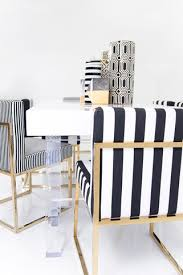 Black And White Striped Dining Chair 007 Dining Chair In Black And White Stripes Dining Dining