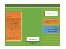 6 panel brochure template 31 free brochure templates word pdf template lab