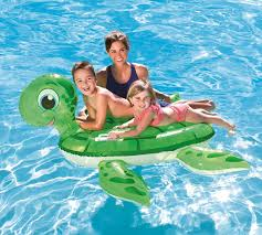 amazon com h2ogo turtle ride on inflatable pool float toys u0026 games