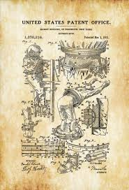 houdini diving suit patent patent print wall decor diver gift
